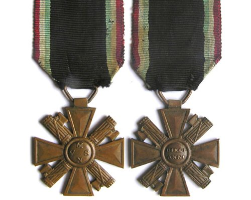 FM0805. ITALY - M.V.S.N. TEN YEARS SERCICE CROSS