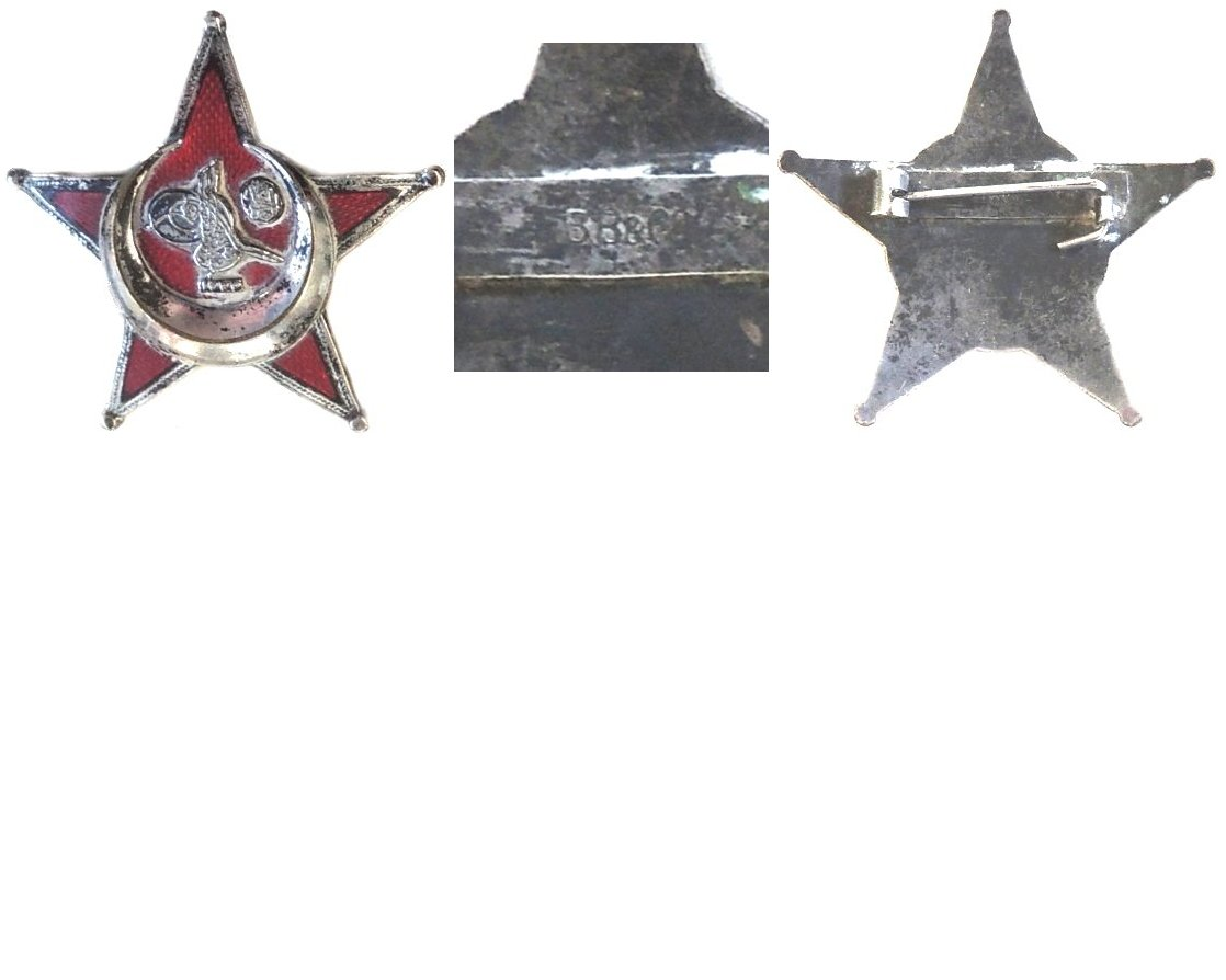 TM0932. TURKISH GALLIPOLI STAR 1915 - B.B.& Co