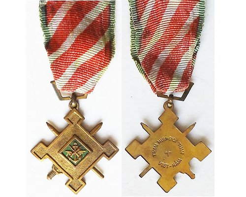 FM1056. SOUTH VIETNAM STAFF SERVICE MEDAL First Class