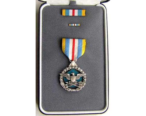 FM0955a. DEFENSE SUPERIOR SERVICE MEDAL in case of issue
