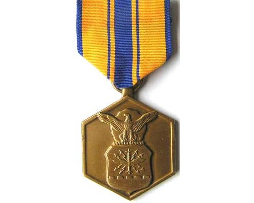 Joint civilian service achievement award jcs bed for Air force decoration examples