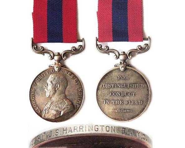 GAL016. DISTINGUISHED CONDUCT MEDAL GVR - 14th Field Ambulance
