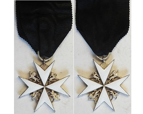 GAL041. THE ORDER OF SAINT JOHN, OFFICER