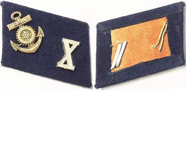 GC1308. KRIEGSMARINE ENGINEER PETTY OFFICER COLLAR TAB
