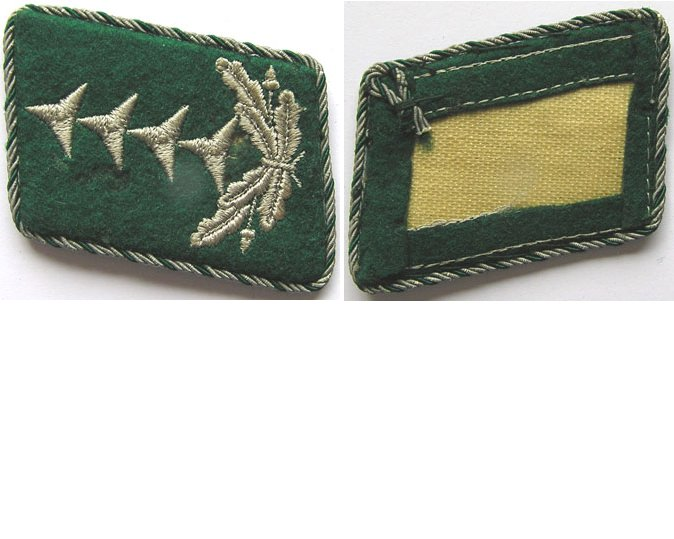 GC1415. LUFTWAFFE ADMINISTRATION CAPTAIN'S RIGHT COLLAR TAB