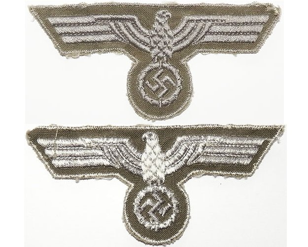 GC2160. WEHRMACHT BREAST EAGLE, late war type