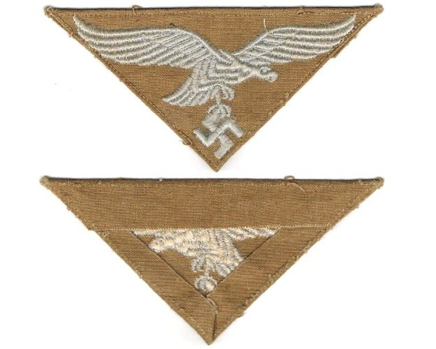 GC2174. LUFTWAFFE TROPICAL BREAST EAGLE for shirt