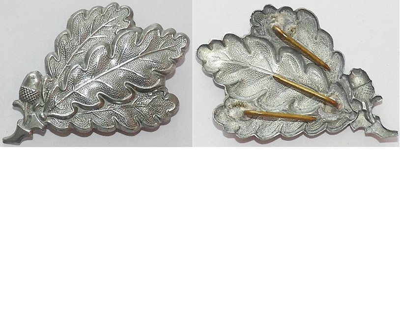 GC2209. JAGER CAP BADGE, aluminium with three pins reverse