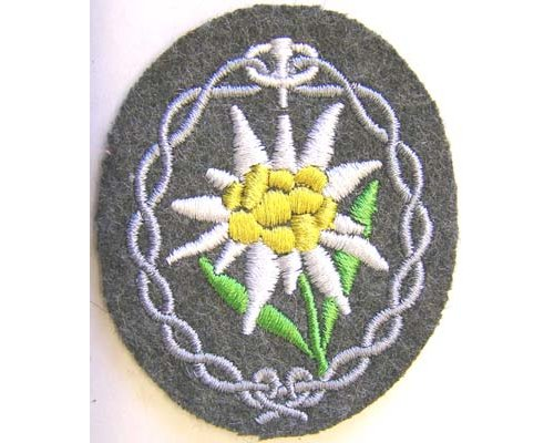 GC2301. WEHRMACHT MOUNTAIN TROOPS Sleeve Patch
