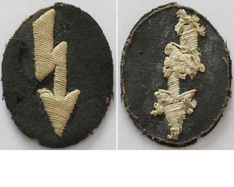 GC2311. WEHRMACHT INFANTRY SIGNALS Sleeve Patch