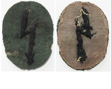 GC2312. WEHRMACHT ENGINEERS SIGNALS sleeve patch