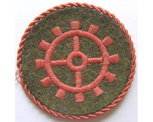 GC2307. WEHRMACHT PANZER ARTISAN Sleeve Patch