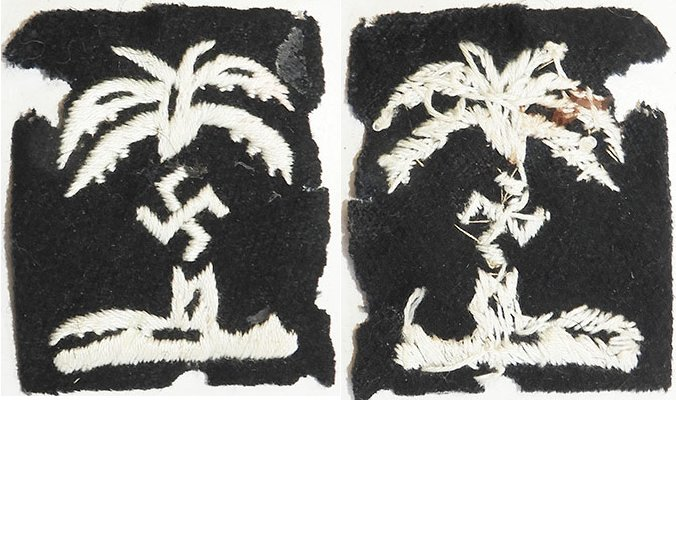 GC2313. UNOFFICIAL WWII AFRIKA CORPS PATCH