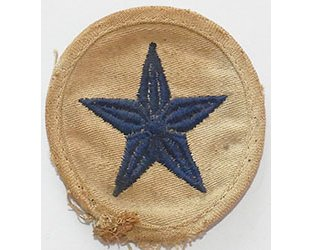 GC2352. KRIEGSMARINE LINE 3rd Class sleeve patch, blue on white