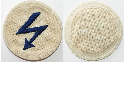GC2355. KRIEGSMARINE RADIO TELEGRAPH 3rd Class sleeve patch
