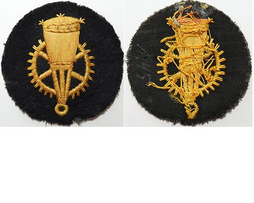 GC2364. KRIEGSMARINE DEFENSIVE ORDNANCE 3rd Class sleeve patch