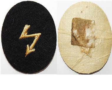 GC2368. KRIEGSMARINE RADIO TELEGRAPHIST OFFICERS cuff patch