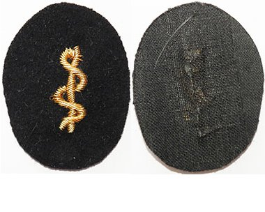 GC2369. KRIEGSMARINE MEDICAL OFFICERS cuff patch