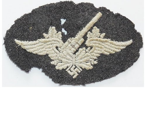 GC2455. LUFTWAFFE FLAK ARTILLERY sleeve patch