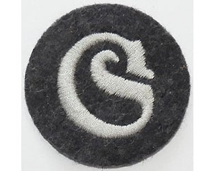 GC2465. LUFTWAFFE TRANSPORT N.C.O. sleeve patch