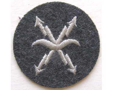 GC2459. LUFTWAFFE AIRCRAFT WARNING PERSONNEL sleeve patch