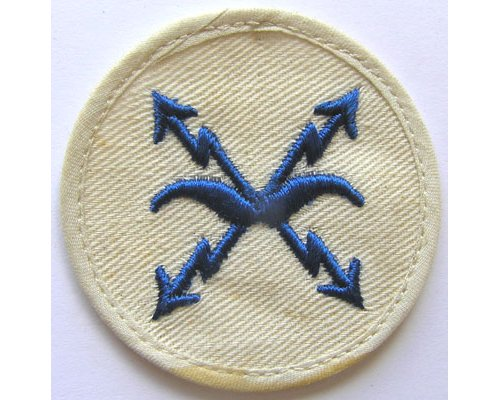 GC2353. KRIEGSMARINE AIRCRAFT SPOTTER 3rd Class, blue on white