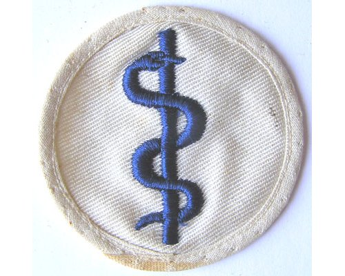GC2355. KRIEGSMARINE SICK BERTH 3rd Class, blue on white