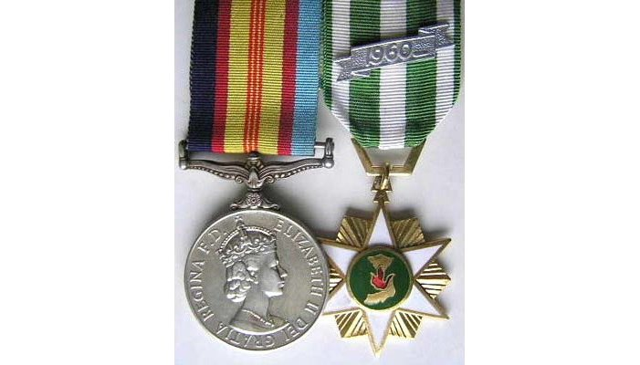 Campaign Medals Post-WWII