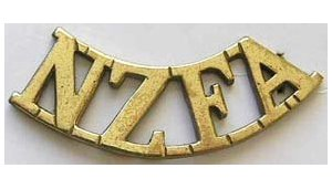NZ Brass Shoulder Titles