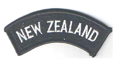 NZ Cloth Shoulder Titles