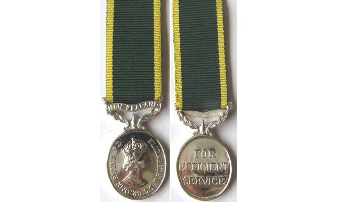 NZ Long Service Medals