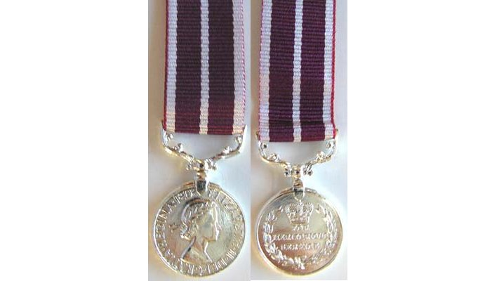 British Long Service Medals