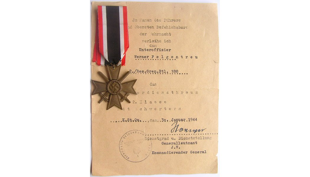 German Medals with Documents
