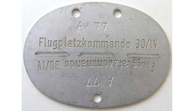 German Dog Tags WWII