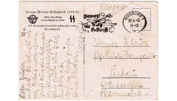 German Postcards, Letters etc
