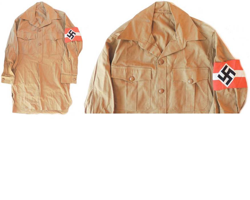 HJ1551. HITLER YOUTH SHIRT