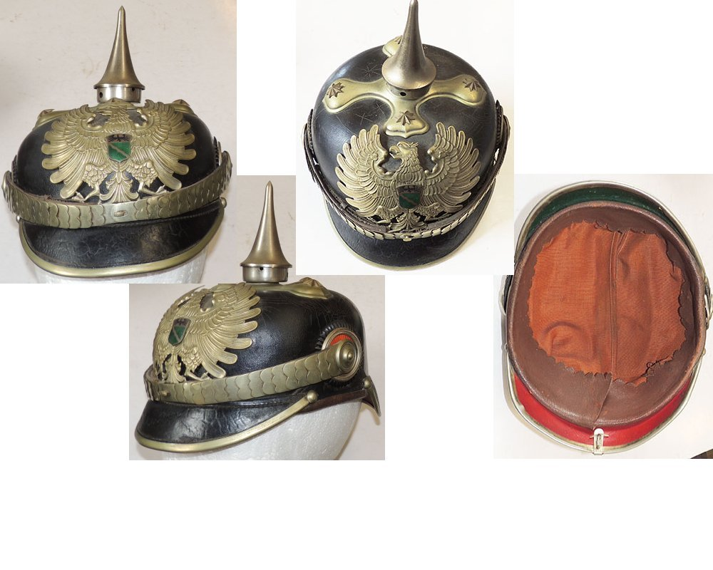 KR1201. NORTH RHINE GOVERNMENT OFFICIALS PICKELHAUBE Post-1918