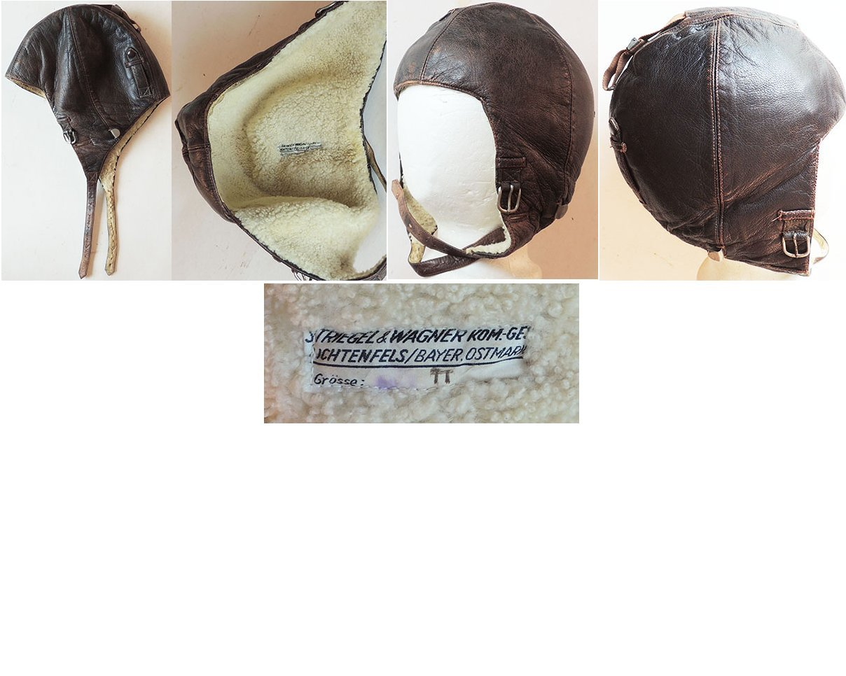 LW1342. LUFTWAFFE WINTER FLIGHT HELMET K33