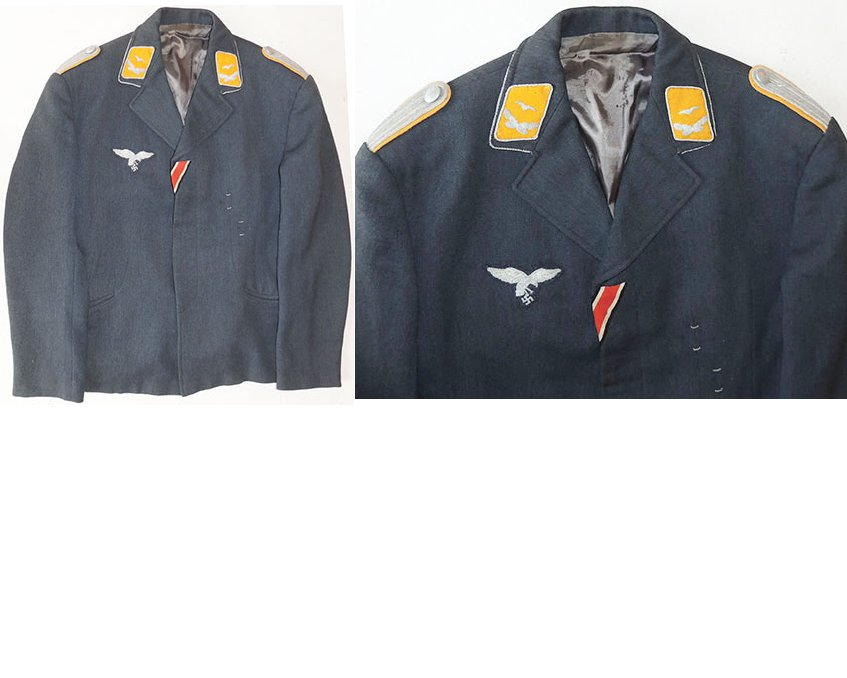 LW1347. LUFTWAFFE LEUTNANT'S FLIGHT JACKET