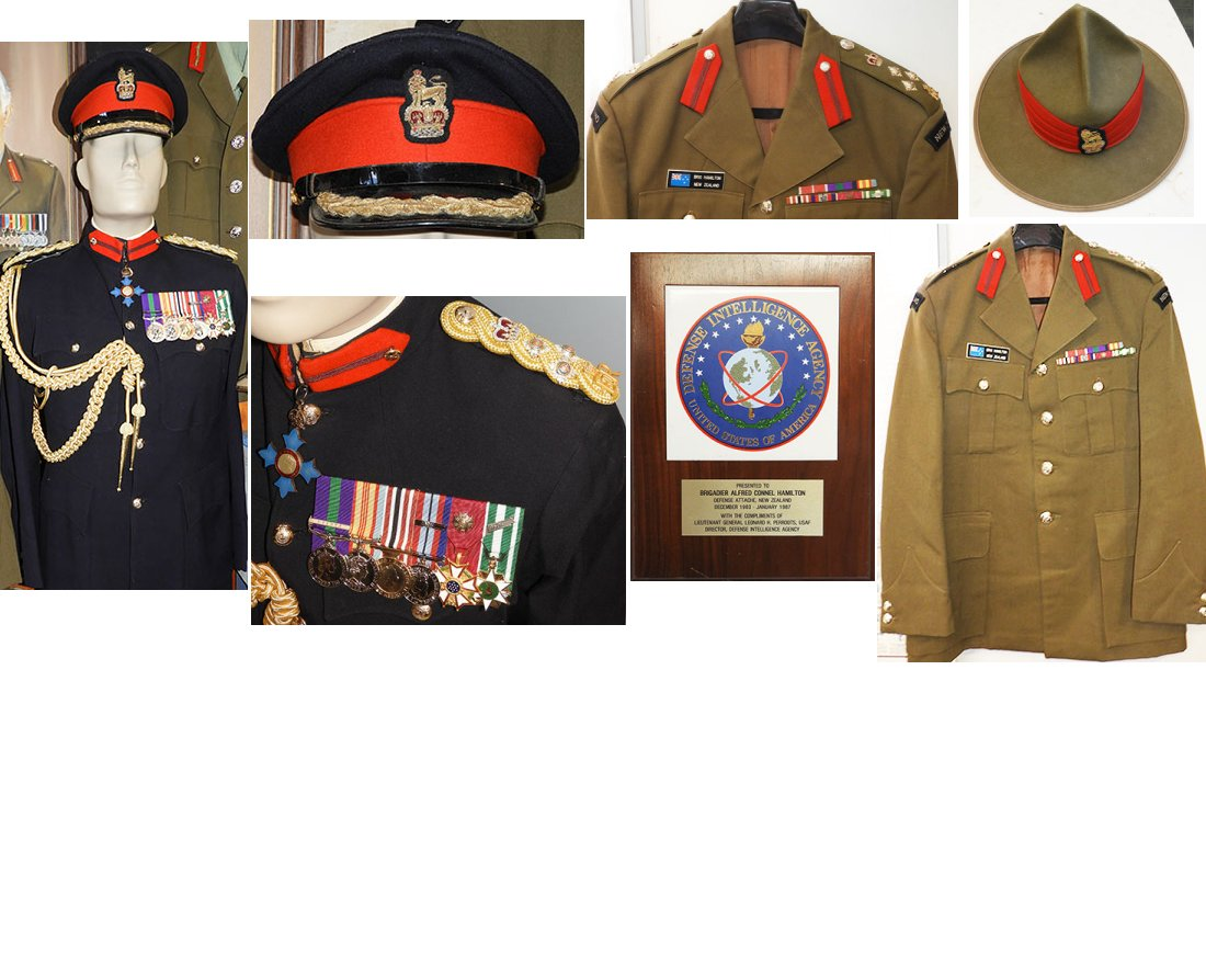 MIL2119. UNIFORMS OF BRIGADIER HAMILTON, NZDF