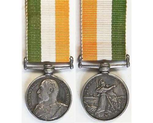 MIN1251. Miniature King's South Africa Medal without clasp
