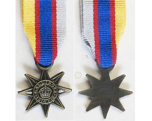 MIN1299. Miniature Gallipoli Star, a modern striking