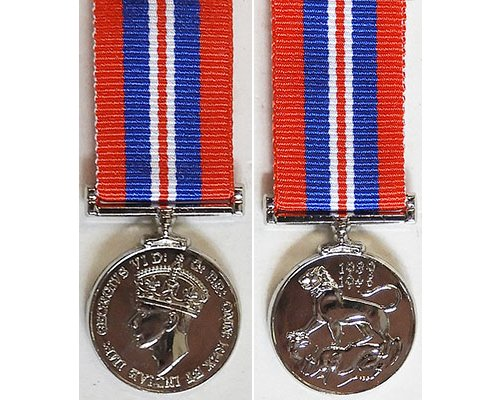 MIN1366. Miniature War Medal 1939-45 – New striking