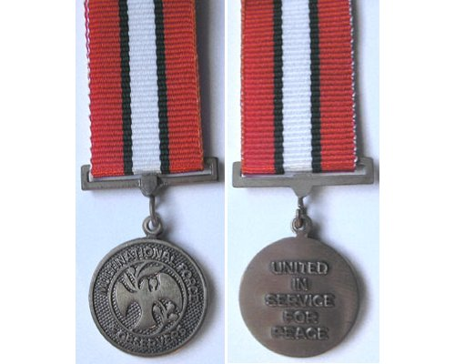 MIN1465. Miniature Multinational Force Medal for Sinai