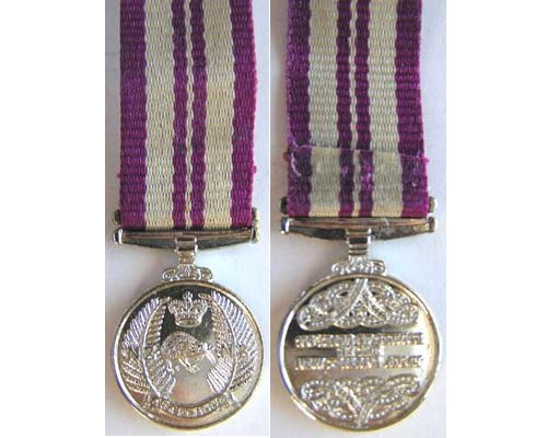 MIN2406. Miniature NZ Army 150 yrs Commemoration Medal
