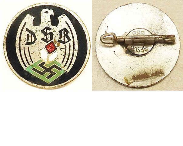 PIN042. DSB HOME OWNERS ASSN. LAPEL BADGE