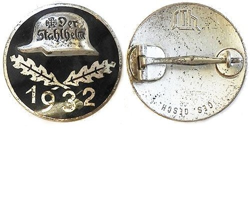 PIN044. STAHLHELM MEMBERSHIP BADGE 1932