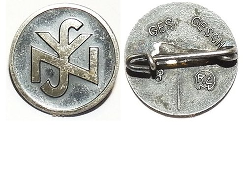 PIN064. NSV NATIONAL SOCIALIST PEOPLE'S WELFARE lapel badge