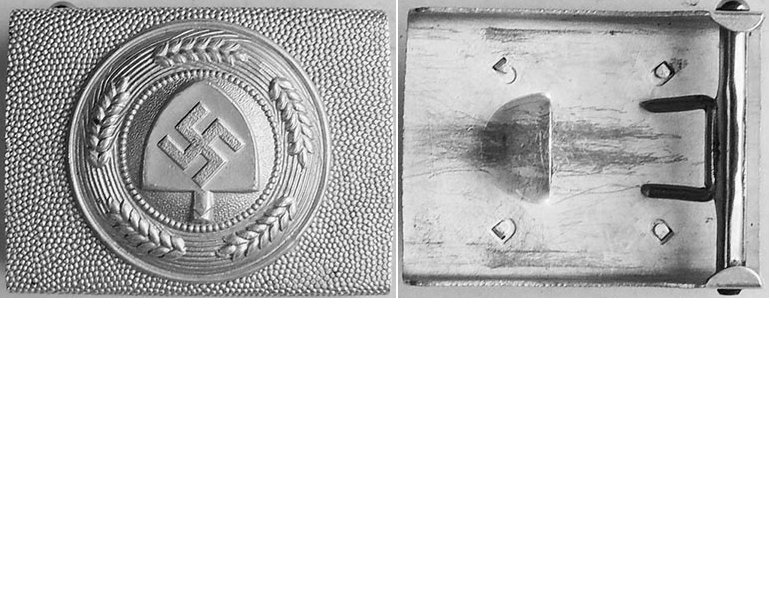 RAD1594. RAD ENLISTED MANS BELT BUCKLE