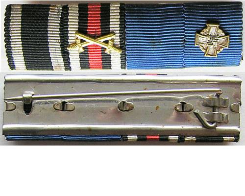 RB006. IRON CROSS 1914 / CROSS OF HONOUR GROUP OF FOUR